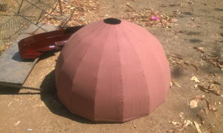 Fabrication of Dome is done.