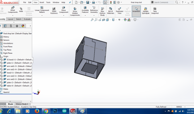 Assignment 5 (Computer controlled Machining)