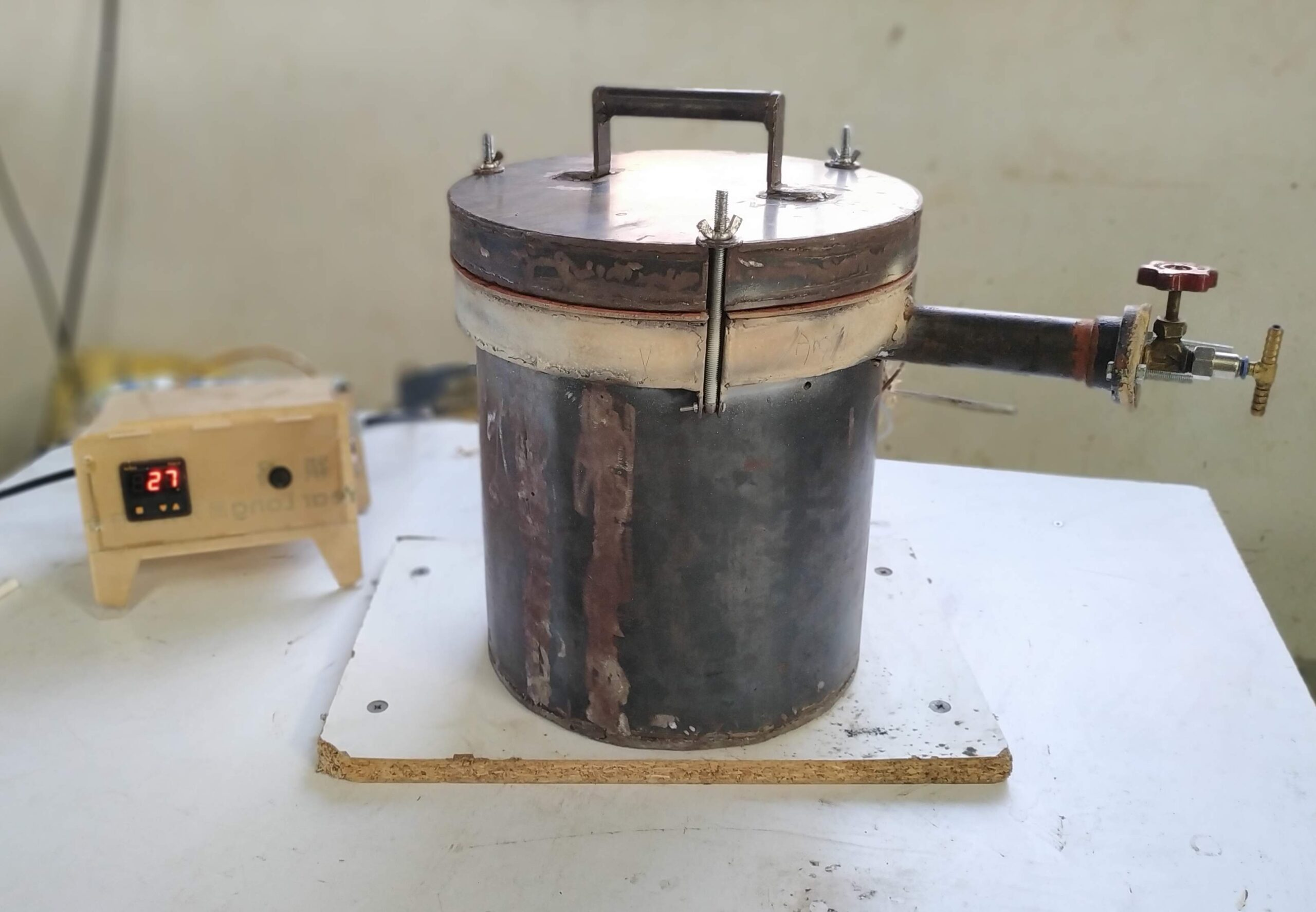 Pyrolysis Based Sanitary Napkin Incinerator