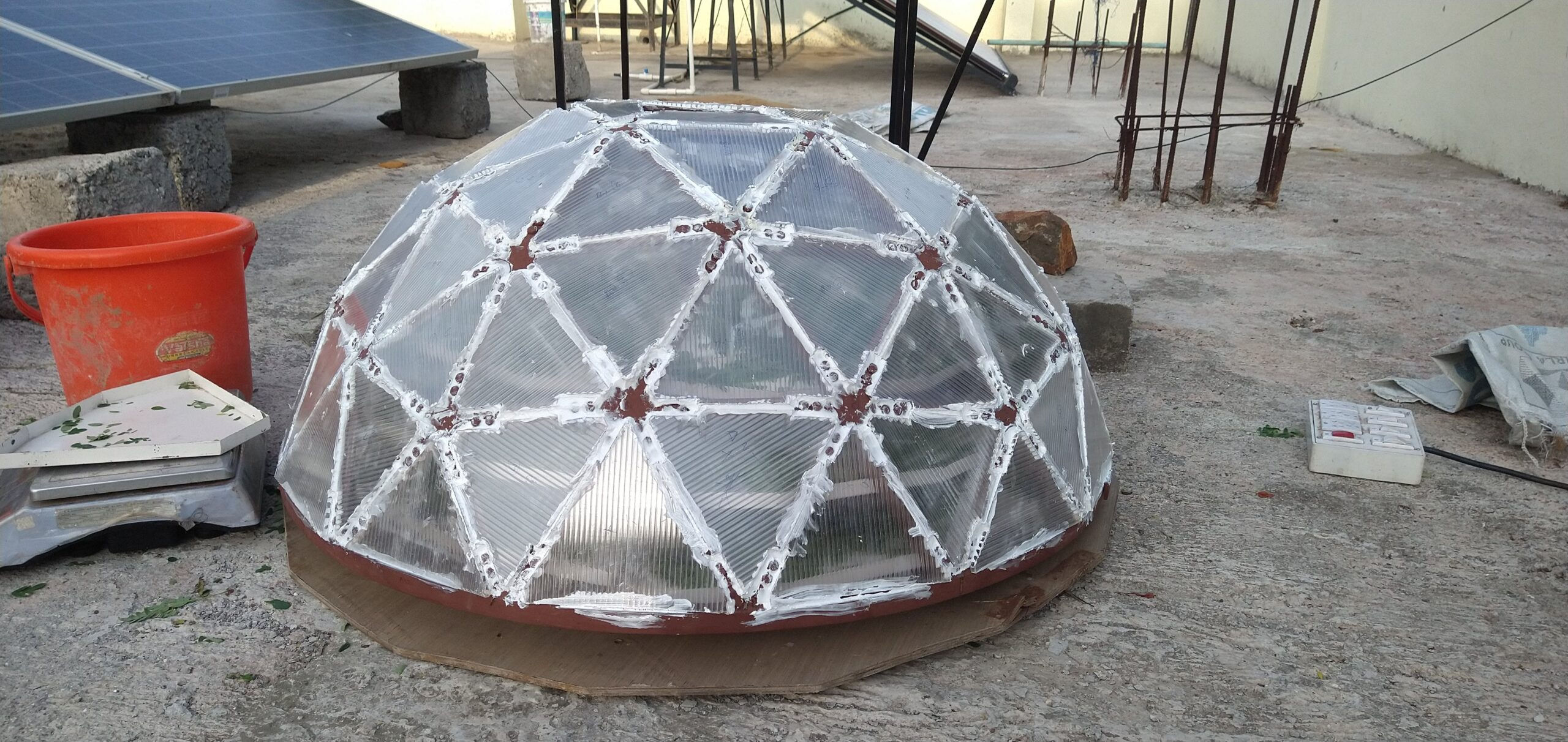 Fabrication of 3V Polycarbonate Dome